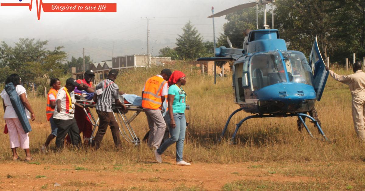 City ambulance Emergency Medical air evacuation